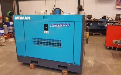 Gebruikte Airman compressor PDS130S